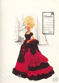 December 1993 Victorian Lady Collection crochet patterns