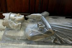Rollo, First Duke of Normandy, Rouen Cathedral. Duke Rollo died in 932 AD, and his first tomb has long since disappeared. This tomb is a faithful copy of a thirteenth-century original that was destroyed during WWII professor-moriart.