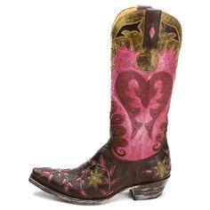 Lane Boots Women's Black/ Pink 'Poison' Cowboy Boots by Lane Boots ...