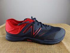 NEW BALANCE Minimus MX20v5 Black Red Cross Training Shoes Men 10.5 EU 44.5 #NewBalance #BarefootMinimalist