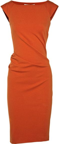 Love the fit of this Diane Von Furstenberg Dress. I need a few more in several colors :) in my closet