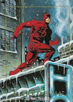 Daredevil 1992 Marvel Masterpieces