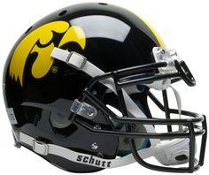 Iowa Hawkeyes Authentic Schutt XP Full Size Helmet