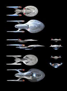 Star Trek: Enterprise E vs Enterprise F