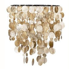 Capiz Hanging Pendant | World Market