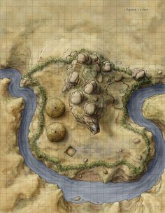 outdoor rpg battle map - Google Search