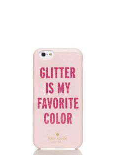 Social Tech -glitter is my favorite color iphone 6 case - kate spade new york