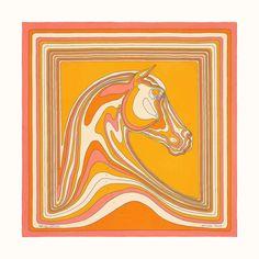 Hermes - The official Hermes online store Scarf Knots, Horse Illustration, Hermes Online, Silk Material, Scarf Design, Textures Patterns, Aurora Sleeping Beauty, Prints, Hermes Scarves