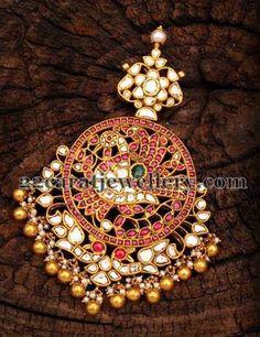Opulent Jadau Kundan Pendant