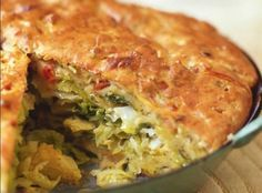 Delicious Savory Cabbage Pie Recipe on Cabbage Pie Recipe, Cabbage Recipes, Cabbage Ideas, Green Cabbage, Vegetarian Cabbage, Vegetarian Recipes, Pie Recipes, Cooking Recipes, Curry Recipes