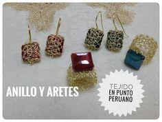ANILLOS Y ARETES EN PUNTO PERUANO PT. 2! Con Cecy Love Bisuteria - YouTube