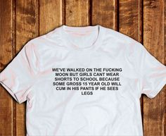 We've Walked On The Moon Shirt Teen School Shirt by Trend2Tees