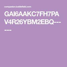 GAI6AAKC7FH7PAV4R26YBM2EBQ------