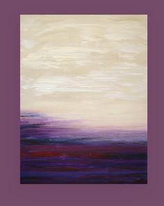 Peinture abstraite acrylique Fine Art peinture par OraBirenbaumArt