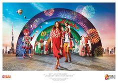 Dubai Shopping Festival // Journey into Inspiration on Behance