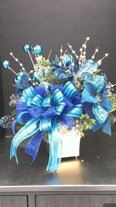 Whoville blue tabletop...Robin Evans