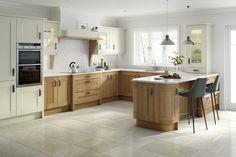 Broadoak Alabaster Oak. More at www.prdesignsni.co.uk #kitchen #design #style #trendy #quality #creative #luxurious #architecture #beauty #craftsmanship #precision #modern #prdesigns