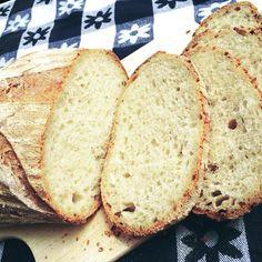 Pane leggero, solo10 gr di lievito madre