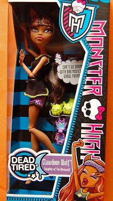 Clawdeen Wolf Monster High Doll