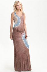 Young, Fabulous & Broke 'Hamptons' Tie Dye Maxi Dress