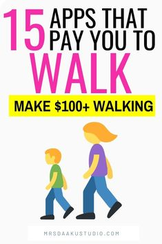 apps that pay you to walk: Ready to get paid to walk? 15 apps that pay you money for extra cash for walking and exercising Earn Money From Home, Earn Money Online, Online Jobs, Earn Extra Cash, Extra Money, Make Quick Money, How To Make, Money Fast, Mo Money