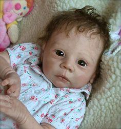 New baby by Christine Noel reborn doll bébé Adrie Stoete Asian | eBay