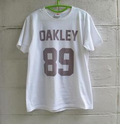 OAKLEY 89 100% Cotton T-shirt by phuphatrr on Etsy