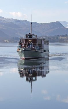The Ullswater Steamer, Cumbria, England Little England, Little Britain, Great Britain, Lake District Attractions, Places In England, Penrith, Northern England, England And Scotland, West Midlands