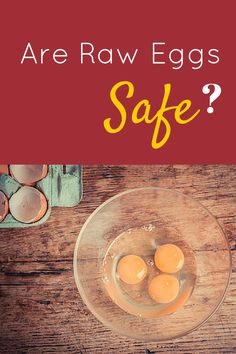 Are raw eggs safe? See why they are one of the most nutritious foods you can eat when you EAT the correct kind of egg.