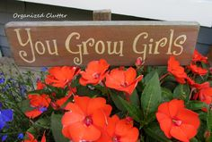 Garden Signs Are A Must In A Cottage Garden