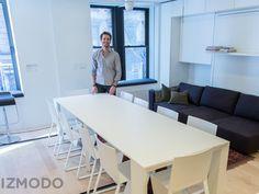 Gizmodo Visits Graham Hill's Amazing LifeEdited Apartment