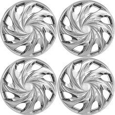 "4 Pc Set of 14"" Inch Chrome Hub Caps Full Lug Skin Rim Cover for OEM Steel Wheel | eBay Motors, Parts & Accessories, Car & Truck Parts | eBay!"