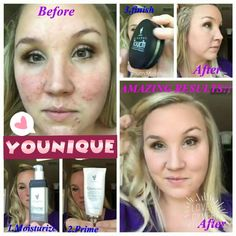 You have skin problems? Younique has the right products for you! Divine moisturizer Glorious Face and eyes Primer Press Powder for a great coverage!! Here is where you get all those goodies www.youniquebylupita.com