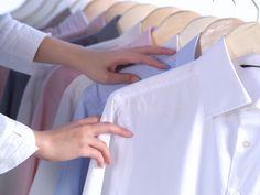 Vyžehlené košile