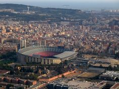 Camp Nou - aerial view
