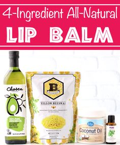 Lip Balm Recipes - Homemade Coconut Oil Moisturizing Balm! Keep your lips soft, smooth and kissable with this creamy, dreamy lip moisturizer! You won't believe how FAST & EASY it is to make!! Go grab the recipe and give it a try this week! Homemade Coconut Oil, Lip Balm Recipes, Healthy Recipes On A Budget, Natural Lip Balm, Soft Lips, Lip Moisturizer, Grandma Gifts, Bath Ideas, 4 Ingredients