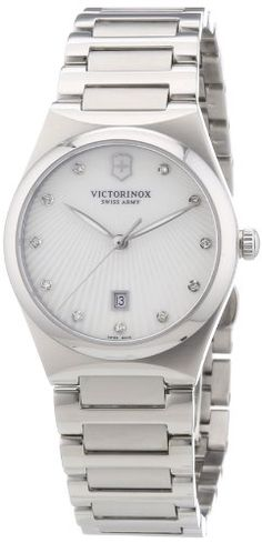 Victorinox Swiss Army 241535  Womens Watch Stainless Steel Silver Color -- You can get more details by clicking on the image.Note:It is affiliate link to Amazon.