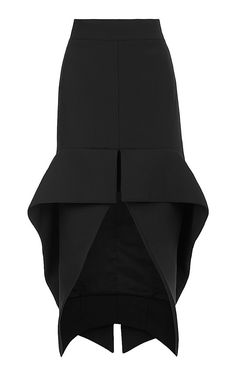 Phenomenal Cocktail Skirt by Maticevski - Moda Operandi. Maybe refashion trousers to this style except a little shorter at the back. Less of a dip back. Look Fashion, Fashion Details, High Fashion, Womens Fashion, Fashion Design, Fashion Trends, Jupe Short, Moda Chic, Mode Inspiration