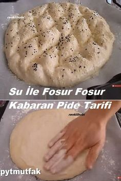 Bread Recipes, Cooking Recipes, Turkish Kitchen, Iftar, How To Make Bread, Bread Baking, Baked Goods, Bakery, Food And Drink