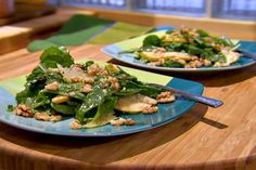 Get Arugula and Pear Salad with Dijon Sherry Vinaigrette Recipe from Food Network
