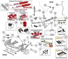 interactive diagram jeep tj engine parts 4 0 liter 242 amc rh pinterest com Jeep XJ Distributor Underneath 1995 Jeep Cherokee XJ