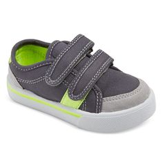 Just One You Toddler Boys' Vincent Boat Shoes - Grey 5, Toddler Boy's, Gray