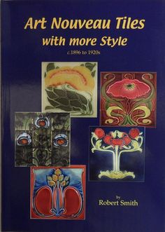 2nd volume of my books relating to Art Nouveau tiles from my own collection, This second volume shows 500 designs that are not shown in volume 1.