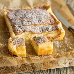 Streuselkuchen mit Pudding gefüllt - wie früher!