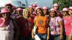 Ana Maria Albanese, ao centro, coordenadora da União Brasileira de Mulheres de Nova Iguaçu. 'Somos voltadas para a violência contra mulheres e homossexuais. Queremos aumentar o papel da mulher nas mudanças ambientais, promovendo sua inserção em cooperativas de lixo.'