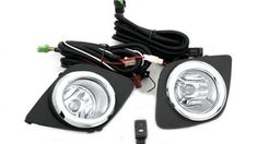 Front Fog Light Kit FOR Toyota Rav4 2006 - 2012 A set of reflector fog light kit for Toyota Rav4 2006-2012. Priced for two glass lens fog lights with bulbs, toggle switch and wiring. Professional installation is recommend.  #autobizpro #Automotive_Parts_and_Accessories