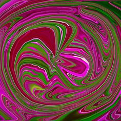 Pink And Green Wormhole