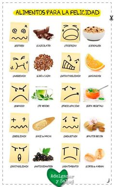 10 ALIMENTOS PARA LA FELICIDAD (Pdf de alta calidad en la web) We are want to say thanks if you like to share this post to another peo… Heed 4 Healt is part of Comida fitness - Healthy Habits, Healthy Tips, Healthy Snacks, Healthy Recipes, Healthy Style, Comida Diy, Sixpack Workout, Health And Wellness, Health Fitness