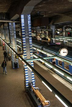 Metro Stockholm - Sweden by Manssens Céline on 500px