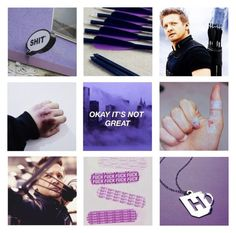 """Hawkeye // Clint Barton Aesthetic //"" by artemisinn ❤ liked on Polyvore featuring art"